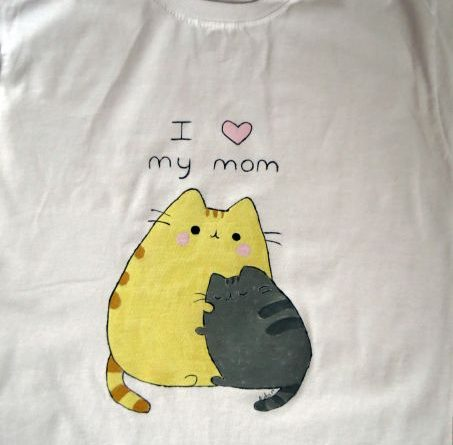 Pusheen – I love my mom
