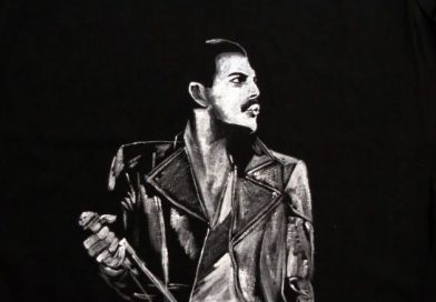 Freddie Mercury (black leather jacket)