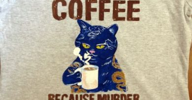 I love coffee and cats